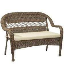 hampton bay mix and match brown wicker outdoor stack chair with