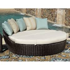 Sunset West Outdoor Furniture Sunset West Cardiff Daybed With Cushions Wayfair