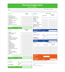 Household Budget Template Excel Personal Budget Template 10 Free Word Excel Pdf Documents