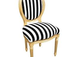 Black And White Striped Dining Chair Black Solid Wood Dining Chair With White Leather Saddle And Simple