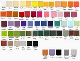 custom 25 shades of orange names design decoration of it u0027s