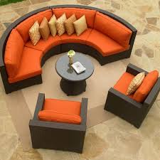 beautiful curved patio set saint tropez seating and dining patio