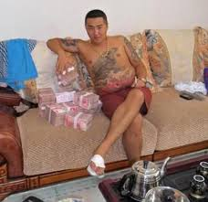 Gangster Meme - chinese gangster with money 2 chinese gangster know your meme