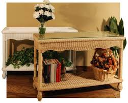 Rattan Console Table Console Table