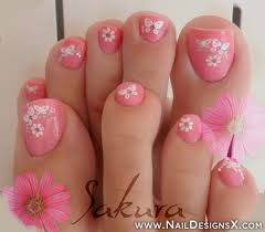 50 pretty toenail art designs toenail art designs daisy flowers