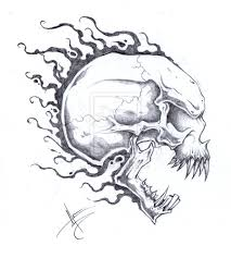 skull tattoo design free download clip art free clip art on