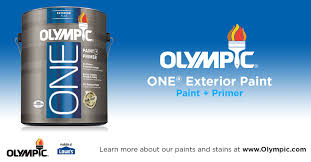 Exterior Paint And Primer - olympic one exterior paint
