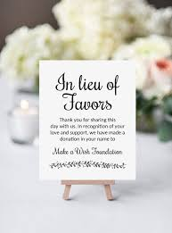 wedding gift donation to charity 1672 best favors gift ideas images on marriage
