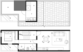 Row House Plans Staged Reinterpretation Row House Rehabilitation In Shanghai