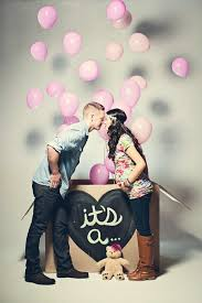 balloons in a box gender reveal 10 adorable gender reveal photo ideas for expecting couples