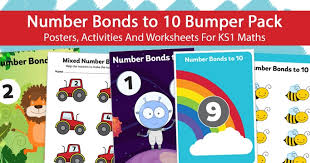 number bonds to 10 bumper pack u2013 posters activities and