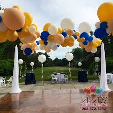 organic balloon clouds canopy with fabric columns for outdoor
