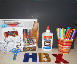 teaching children how to set goals and use a vision board kiddie