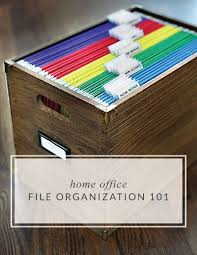 Best  Home File Organization Ideas On Pinterest File Cabinet - Home office filing ideas
