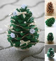 christmas ideas pinterest top pins and best craft pine cone tree