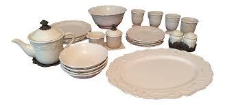 chris madden corvella ivory tableware chairish