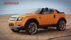 land rover defender concept land rover defender dc100 sport tested youtube