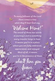 sympathy card welcome home religious sympathy card greeting cards hallmark