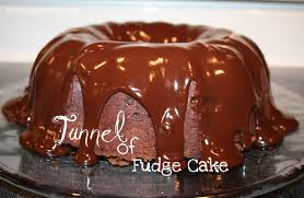 tunnel of fudge cake the real thing with the coake family