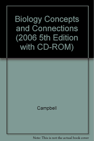 biology concepts and connections 2006 5th edition with cd rom