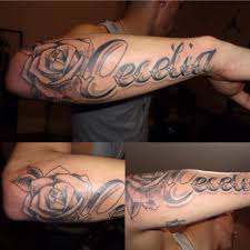 forearm name smink tattoos tatting