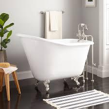 52 wallace cast iron slipper clawfoot tub bathroom