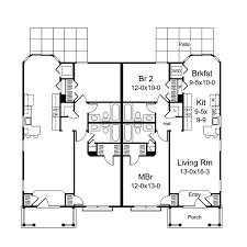 ladue manor duplex plan 007d 0225 house plans and more