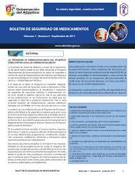 boletin de seguridad de medicamentos by michael macias issuu