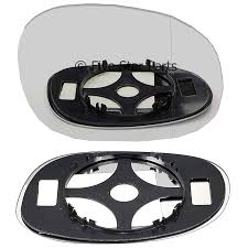 Door Mirror Glass by Right Driver Side Wide Angle Wing Mirror Glass For Peugeot 206