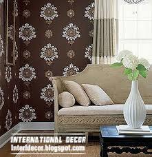 wallpaper livingroom modern living room wallpaper design ideas interior