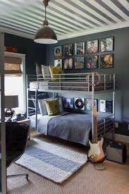 Small Loft Bedroom Decorating Ideas Bedroom Tween Boys Loft Bedroom Idea With Metal Base Bunkbed With