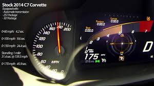 2014 corvette stingray z51 top speed 2014 c7 corvette stingray runs 159 5 mph in standing mile