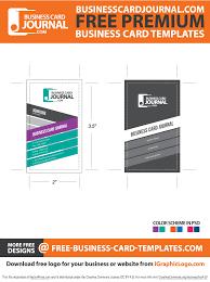 card business card template ai