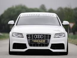 audi a4 b8 grill upgrade rieger rs5 look front bumper for audi a4 s4 b8