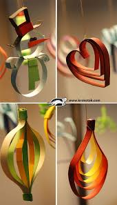 paper christmas decorations 126 best paper christmas ornaments images on paper