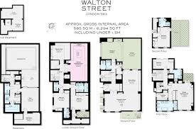 Harrods Floor Plan 5 Bedroom House For Sale In Walton Street London Sw3