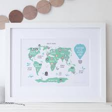 Mali Location On World Map by Framed World Maps For Sale