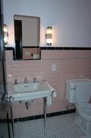 white bathroom tile white bathroom floor tile pink bathroom wall
