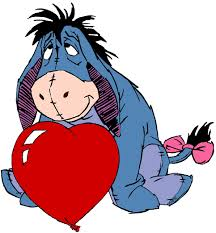 pooh valentines clipart