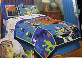 Buzz Lightyear Duvet Cover Amazon Com Disney Toy Story Full Size Comforter Bed Cover Buzz
