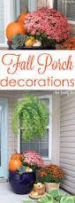 Fall Decorated Porches - fall outdoor decor 2015