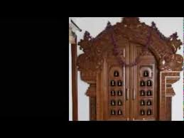 Home Inside Arch Model Design Image Pooja Carved Wooden Door Designs Youtube