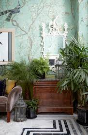 the london home of hannah cecil gurney de gournay wallpaper