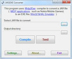 convert jad to apk convert jar to exe java archive to executable with jar2exe converter