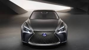 lexus lf lc lexus lf lc concept from the 2015 tokyo motor show