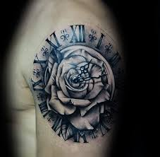 roman numeral clock tattoo tattoo collections