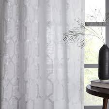 Moorish Tile Curtains Moorish Tile Printed Curtain West Elm