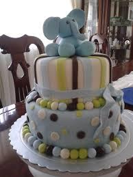 pastel de elefantito para baby shower baby shower idea