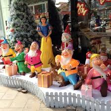 cd fb121 fiberglass sculpture decorations snow white and