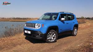 jeep renegade blue interior jeep renegade 1 4l t 4x4 limited car review youtube